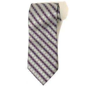 AGENDA-NY Checkered Men's Tie